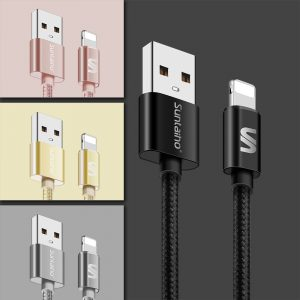 KABEL Lightning iPhone 5 5s 6 6s 7 iPad Air 2 USB